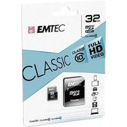 emtec microsdhc 32gb class 10 classic met sd-adapter