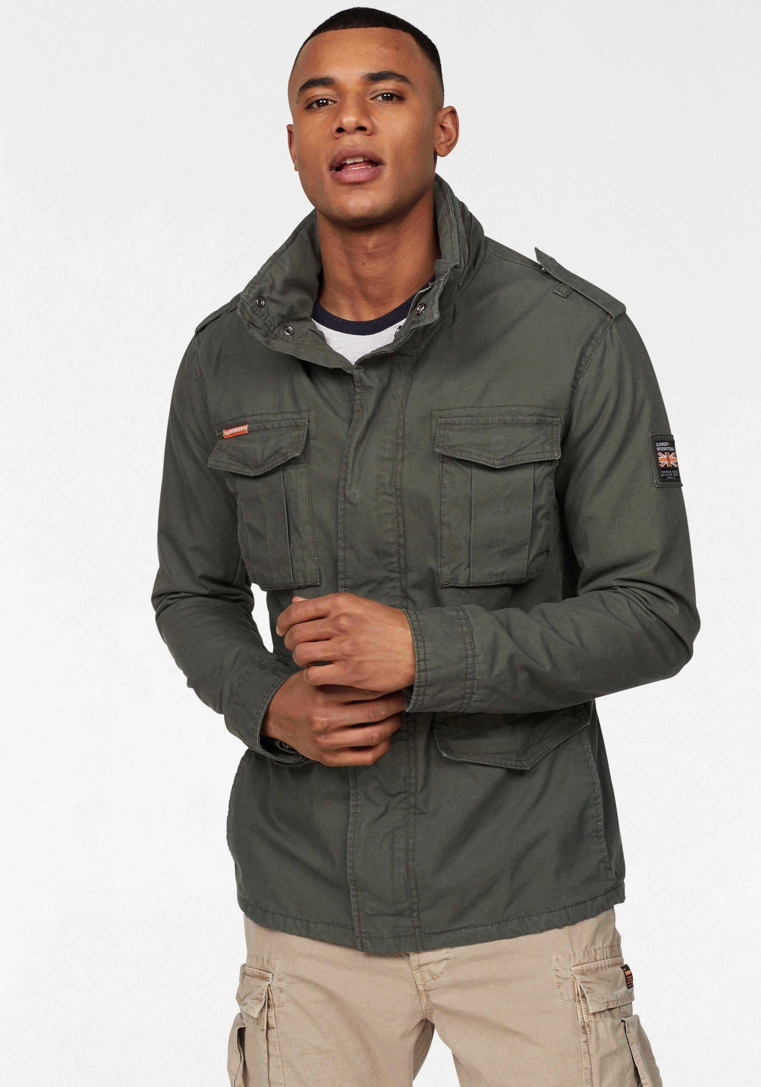 De Jacket Field »classic In Rookie Military Superdry Online Jacket« R07qf