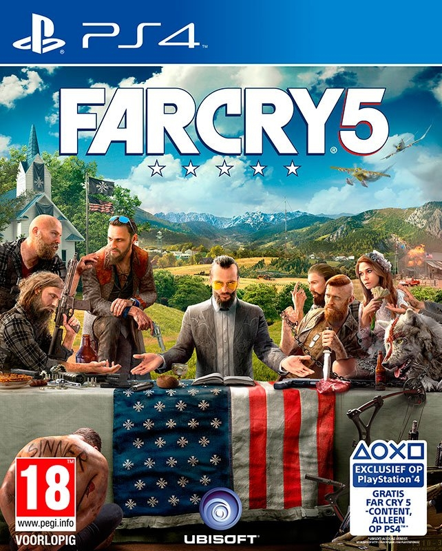 Playstation PS4 Game Far Cry 5 nu online bestellen