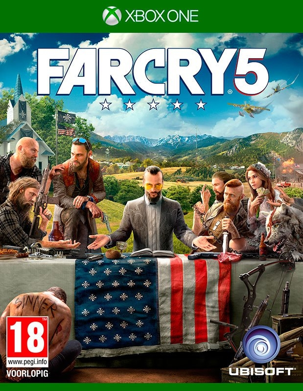 Microsoft XBOX ONE Game Far Cry 5 online kopen op otto.nl