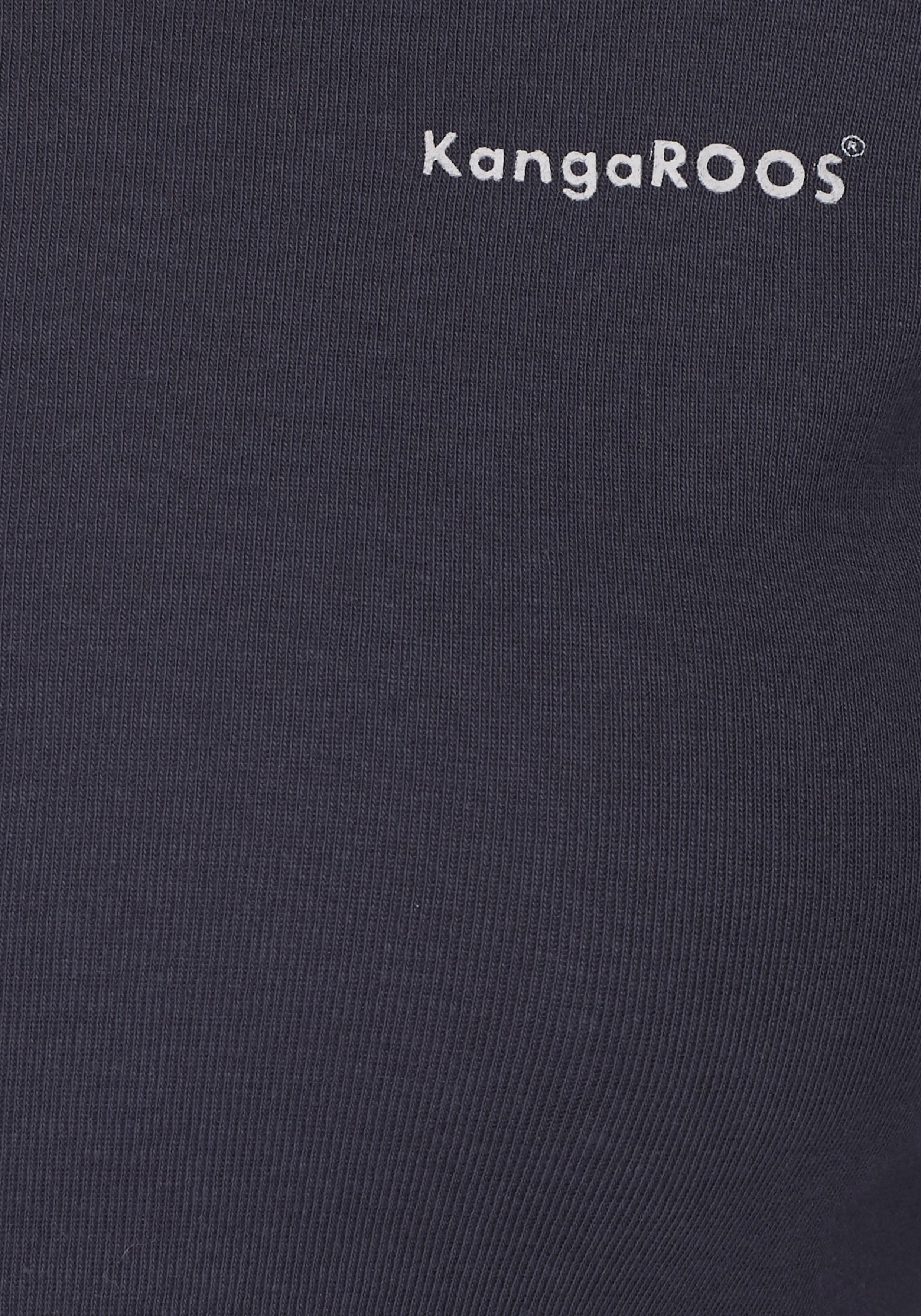 Kangaroos Shirt Met Lange Mouwen Makkelijk Gevonden - Geweldige Prijs