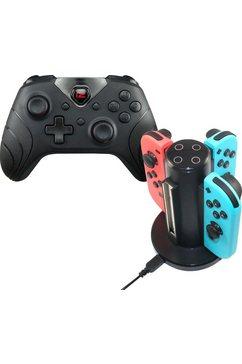 ready2gaming controller nintendo switch bundle (set) zwart