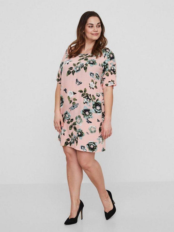 Junarose Bloemen jurk roze