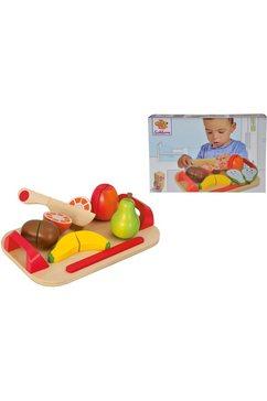 eichhorn speellevensmiddelen houten vruchten op blad (12-delig) multicolor
