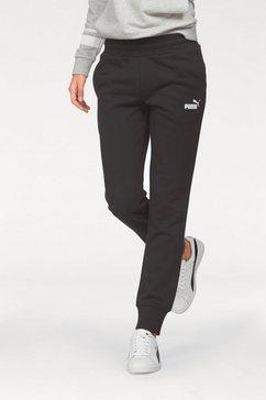 puma joggingbroek »essential sweat pants closed tr« zwart