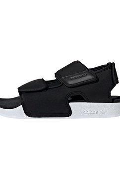 adidas originals badslippers »adilette 3.0 sandale« zwart
