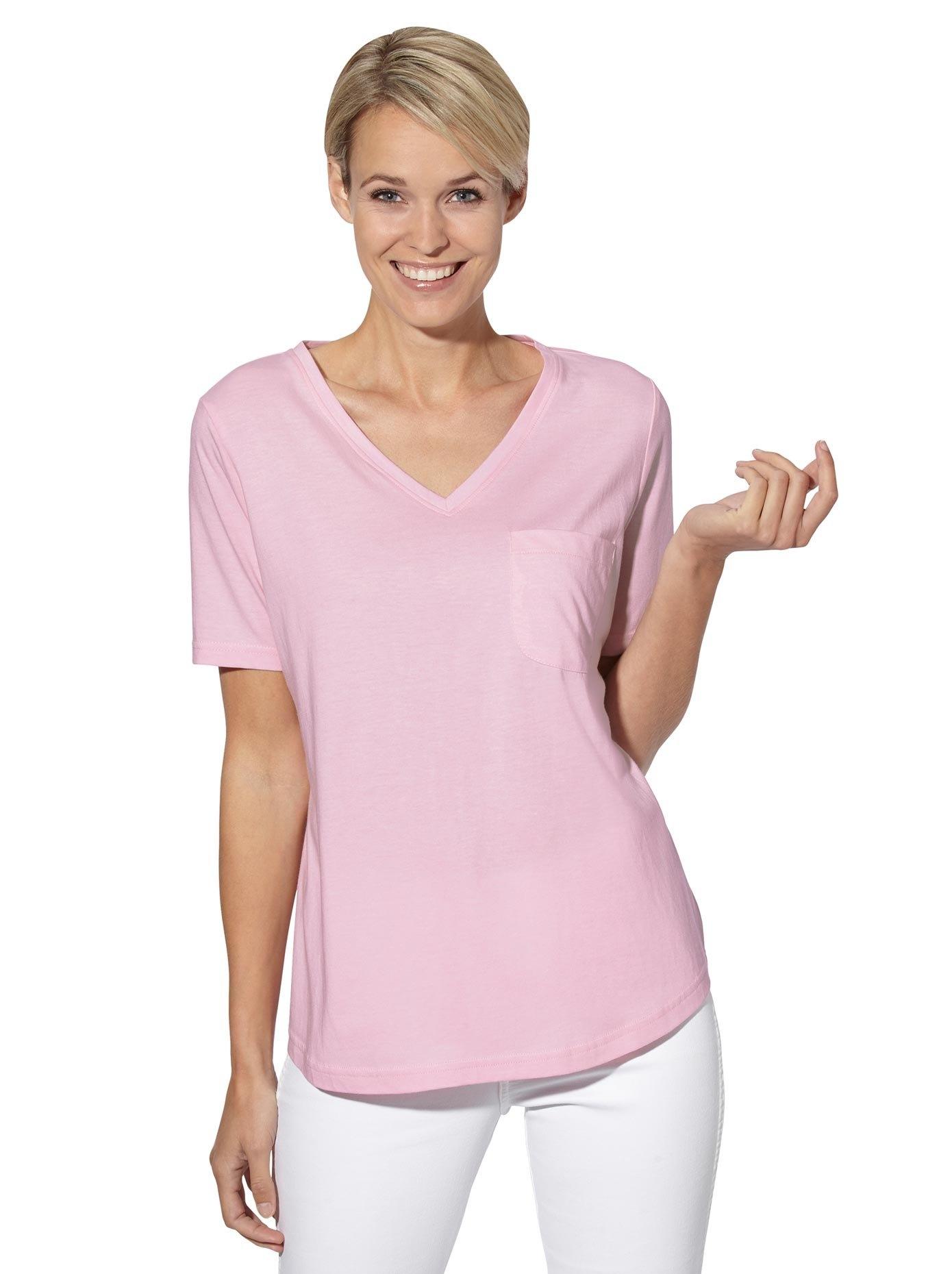 Casual Looks shirt met V-hals in de webshop van OTTO kopen