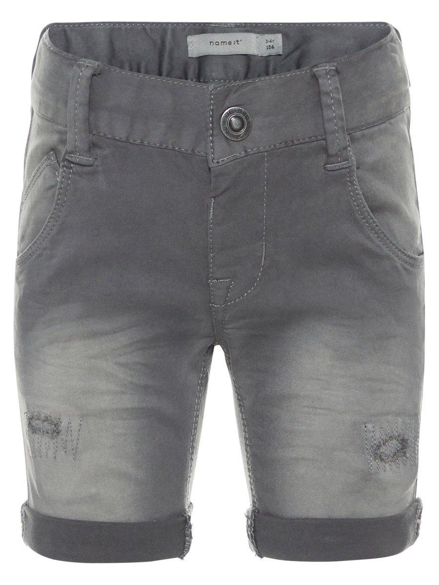 name it lange slim fit twill Shorts in de webshop van OTTO kopen