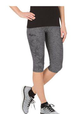 trigema 3-4-broek in gemêleerde look multicolor