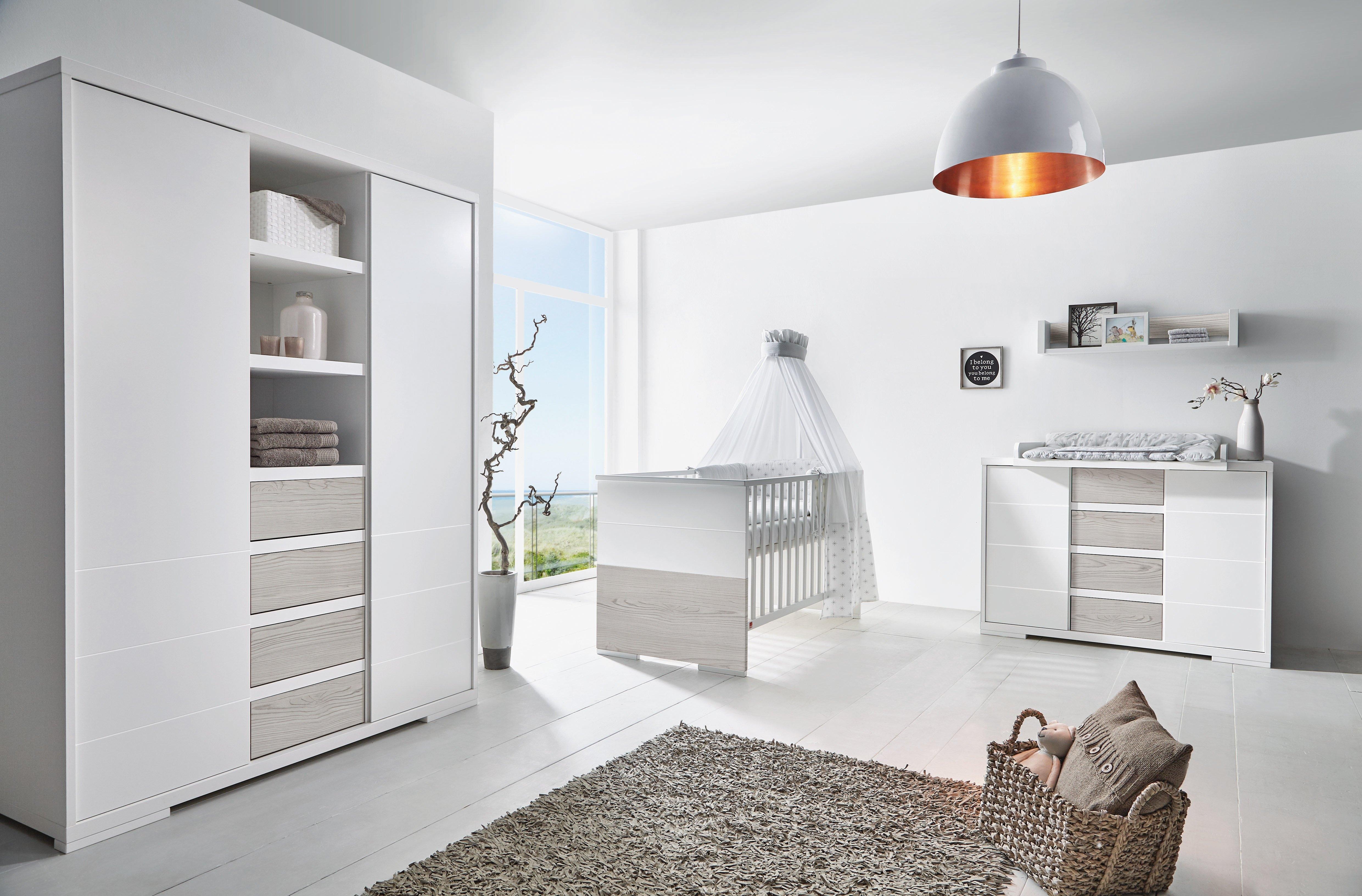 Schardt complete babykamerset Maxx Boathouse Made in Germany; met kinderbed, kast en commode (set, 3 stuks) nu online bestellen