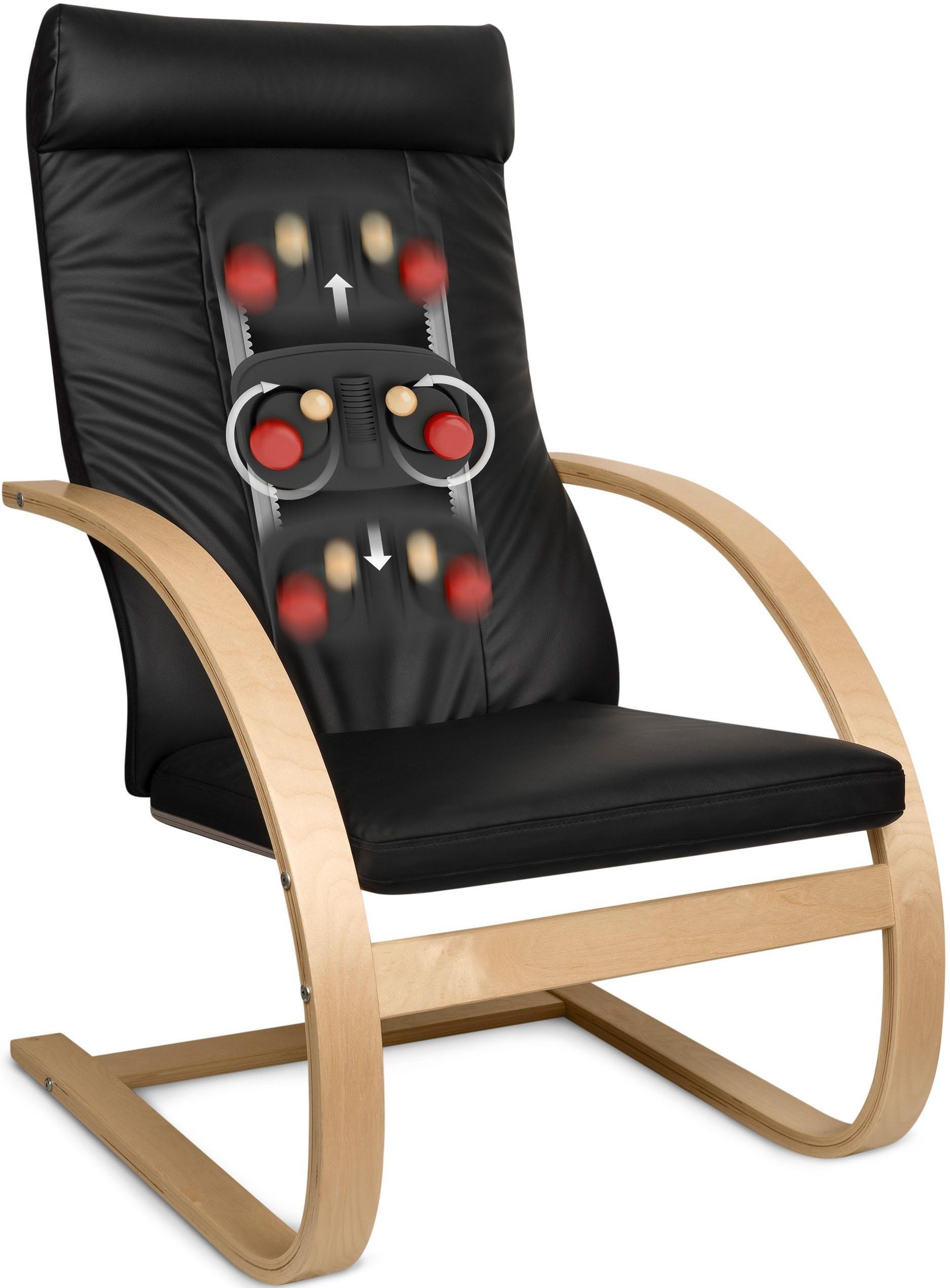 Medisana massagefauteuil relaxfauteuil RC 420, belastbaar tot 150 kg - gratis ruilen op otto.nl
