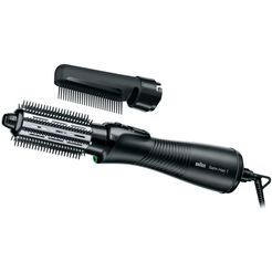 braun haardroger--straightener--styler satin hair 7 as 720 big brush and comb zwart