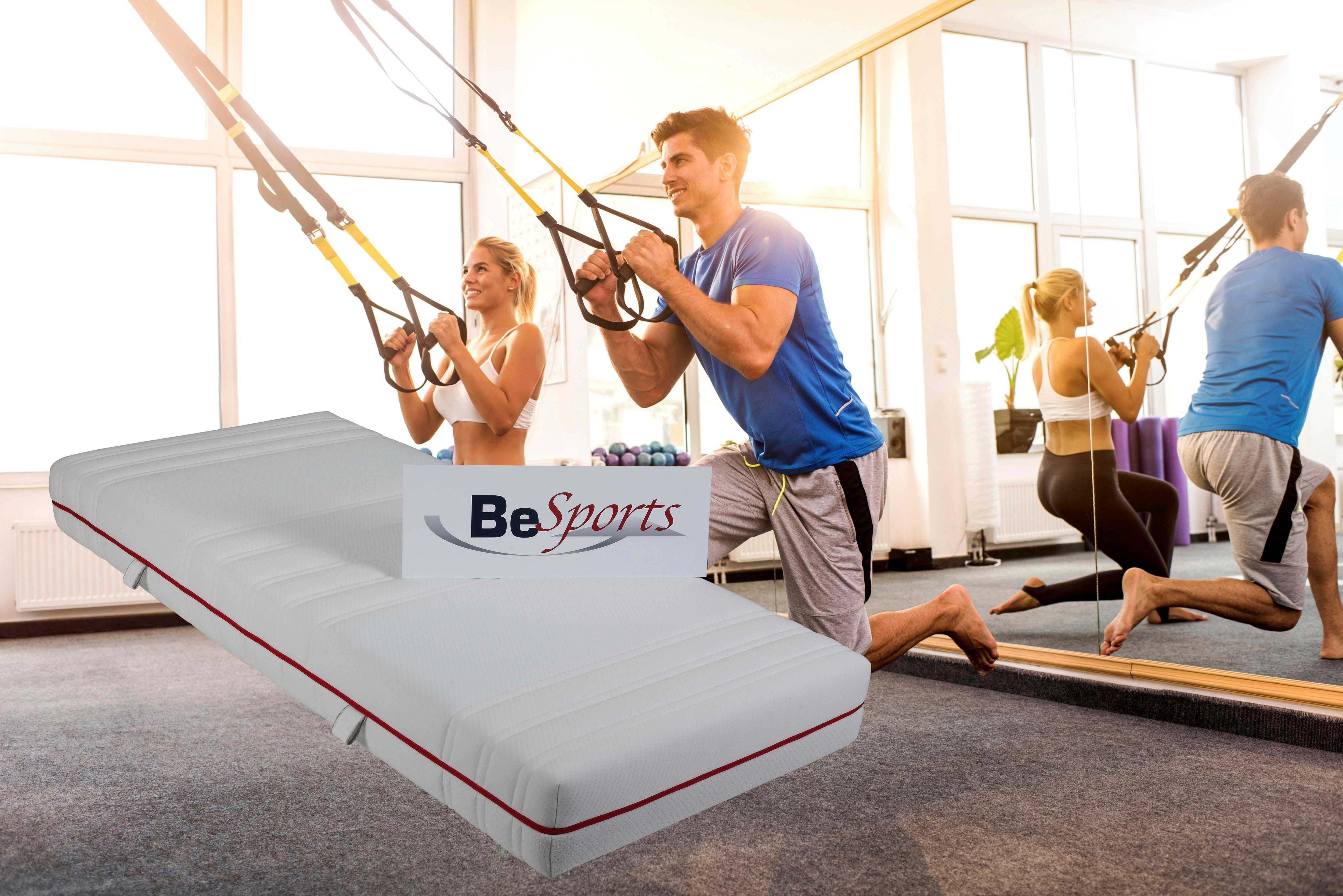 Besports Comfortschuimmatras »HS Plus 2200«, 22 cm dik veilig op otto.nl kopen