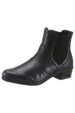 rieker chelsea-boots blauw