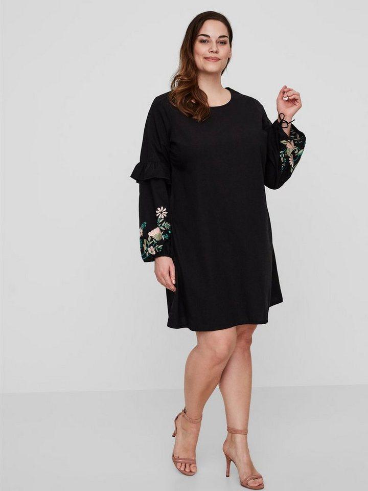 Junarose Longsleeve jurk zwart