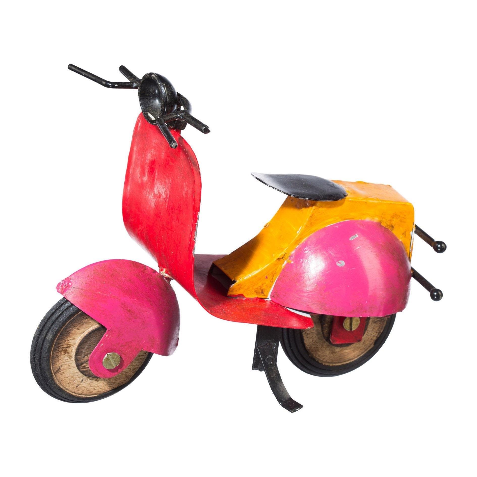 Creativ home deco-object Scooter - gratis ruilen op otto.nl