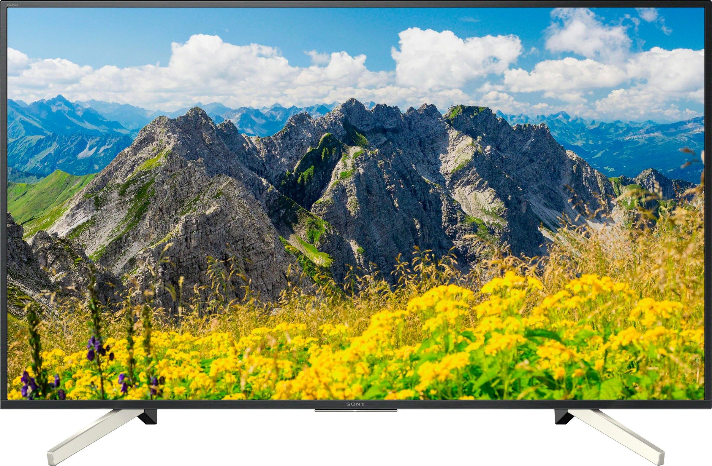 SONY KD55XF7596 led-tv (139 cm / (55 inch), 4K Ultra HD, smart-tv online kopen op otto.nl