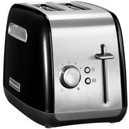 kitchenaid toaster »5kmt2115eob«, voor 2 plakken brood, 240 w zwart