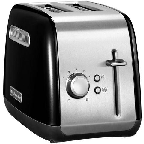 KitchenAid toaster 5KMT2115EOB, voor 2 plakken brood, 240 W