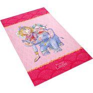 vloerkleed voor de kinderkamer, »li-111«, prinses lillifee, rechthoekig, hoogte 6 mm, geprint roze