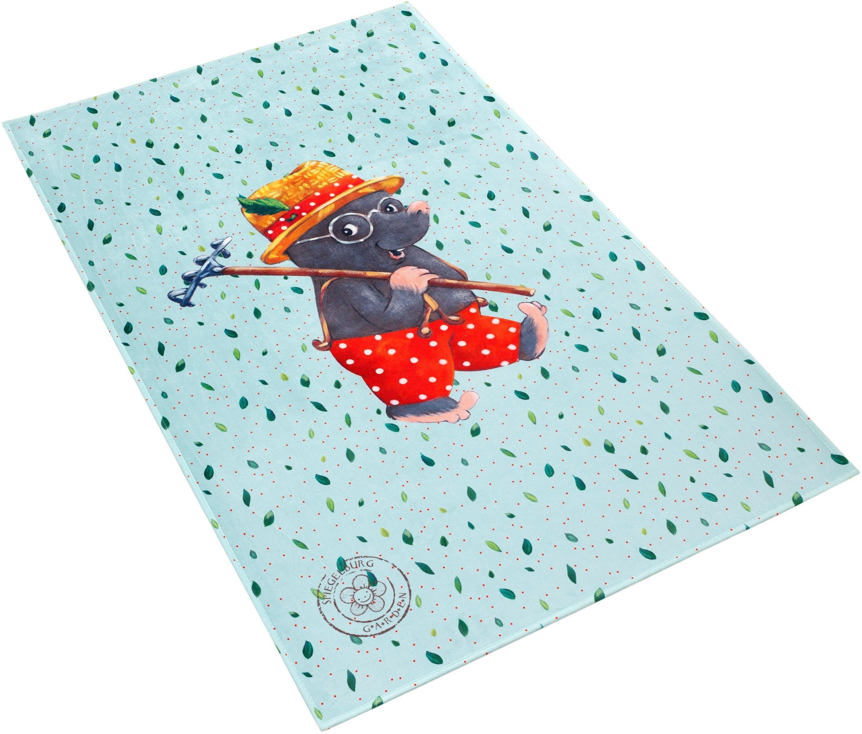 SPIEGELBURG GARDEN Vloerkleed voor de kinderkamer, »GA-612«, rechthoekig, hoogte 6 mm, geprint bij OTTO online kopen