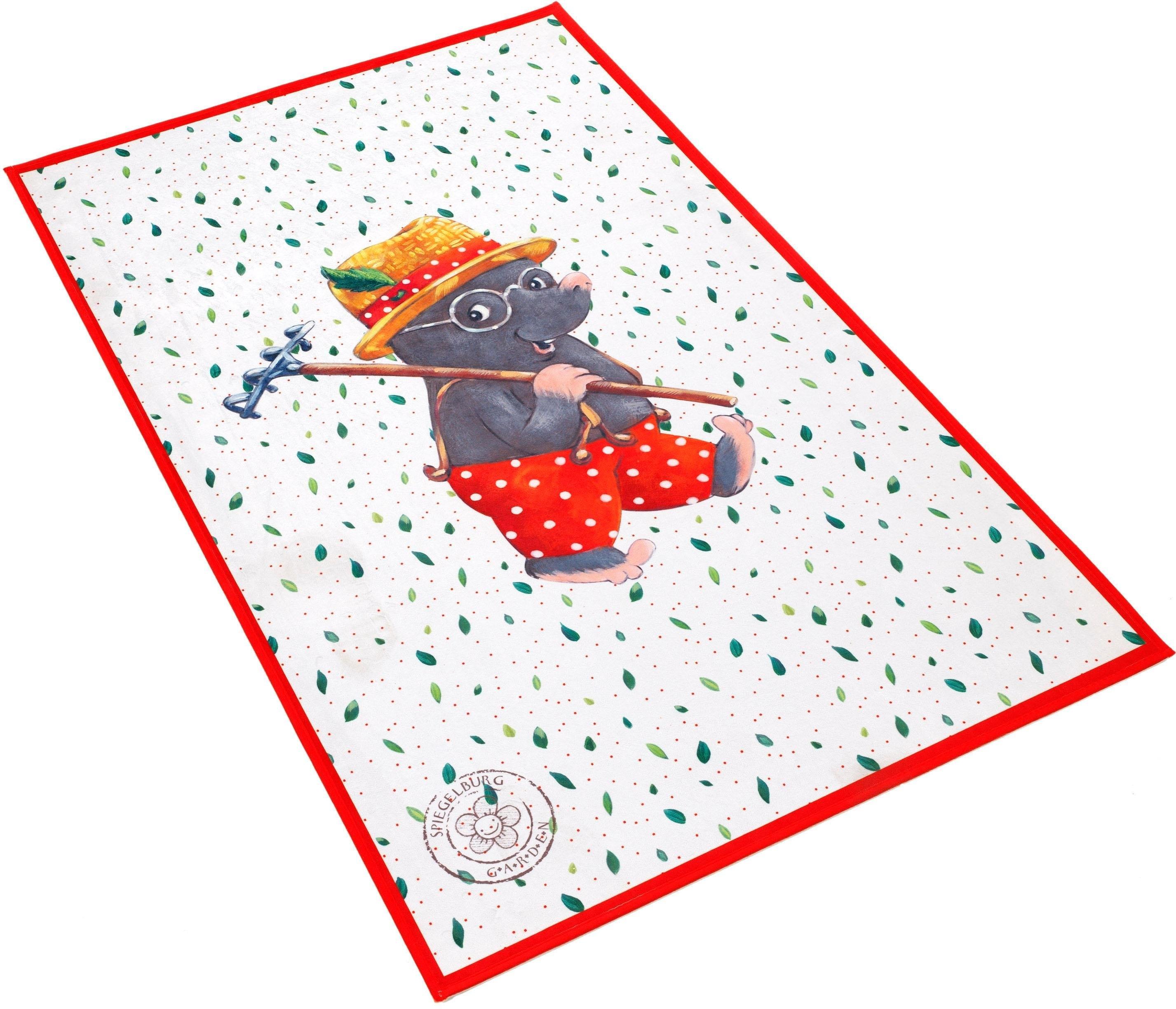 SPIEGELBURG GARDEN Vloerkleed voor de kinderkamer, »GA-611«, rechthoekig, hoogte 6 mm, geprint online kopen op otto.nl