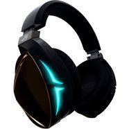 asus »rog strix fusion 500« gaming-headset (bluetooth, bedraad, hi-res, microfoon aan de buitenkant) zwart