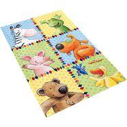 vloerkleed voor de kinderkamer, »ls-213«, die lieben sieben, rechthoekig, hoogte 6 mm, geprint multicolor