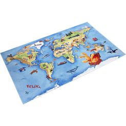 felix der hase vloerkleed voor de kinderkamer fe-410 multicolor