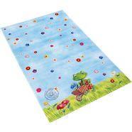 vloerkleed voor de kinderkamer, »ga-613«, spiegelburg garden, rechthoekig, hoogte 6 mm, geprint blauw