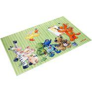 die lieben sieben vloerkleed voor de kinderkamer ls-210 stof print, zachte microvezel, kinderkamer multicolor