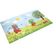 vloerkleed voor de kinderkamer, »ga-610«, spiegelburg garden, rechthoekig, hoogte 6 mm, geprint multicolor