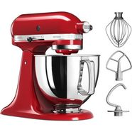 kitchenaid keukenmachine artisan 5ksm125eer, 4,8 liter, 300 w, empire-rood rood