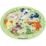 vloerkleed voor de kinderkamer, »ls-214«, die lieben sieben, rond, hoogte 6 mm, geprint multicolor