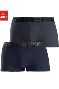 hom boxershort »hom boxerlines basic« (set van 2) multicolor