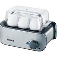 severin eierkoker ek 3134, aantal eieren: 6 stuks, 400 w zilver