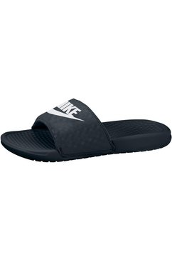 nike badslippers »wmns benassi just do it« zwart