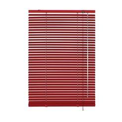 gardinia aluminium-jaloezie in standaardmaat 25 mm rood