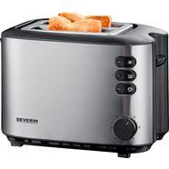 severin toaster »at 2514«, voor 2 sneetjes, 850 w zilver
