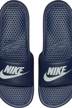 nike badslippers »benassi just do it« blauw