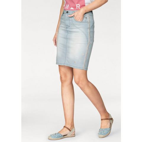NU 15% KORTING: Please Jeans jeansrok G747