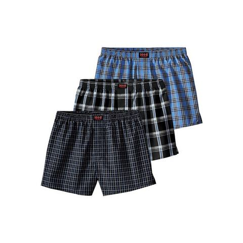 Geweven boxershort, set van 3, H.I.S