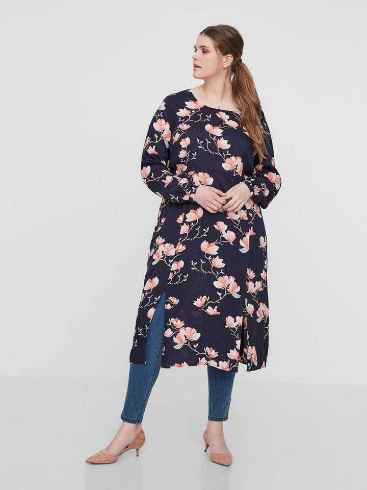 Junarose Midi jurk blauw