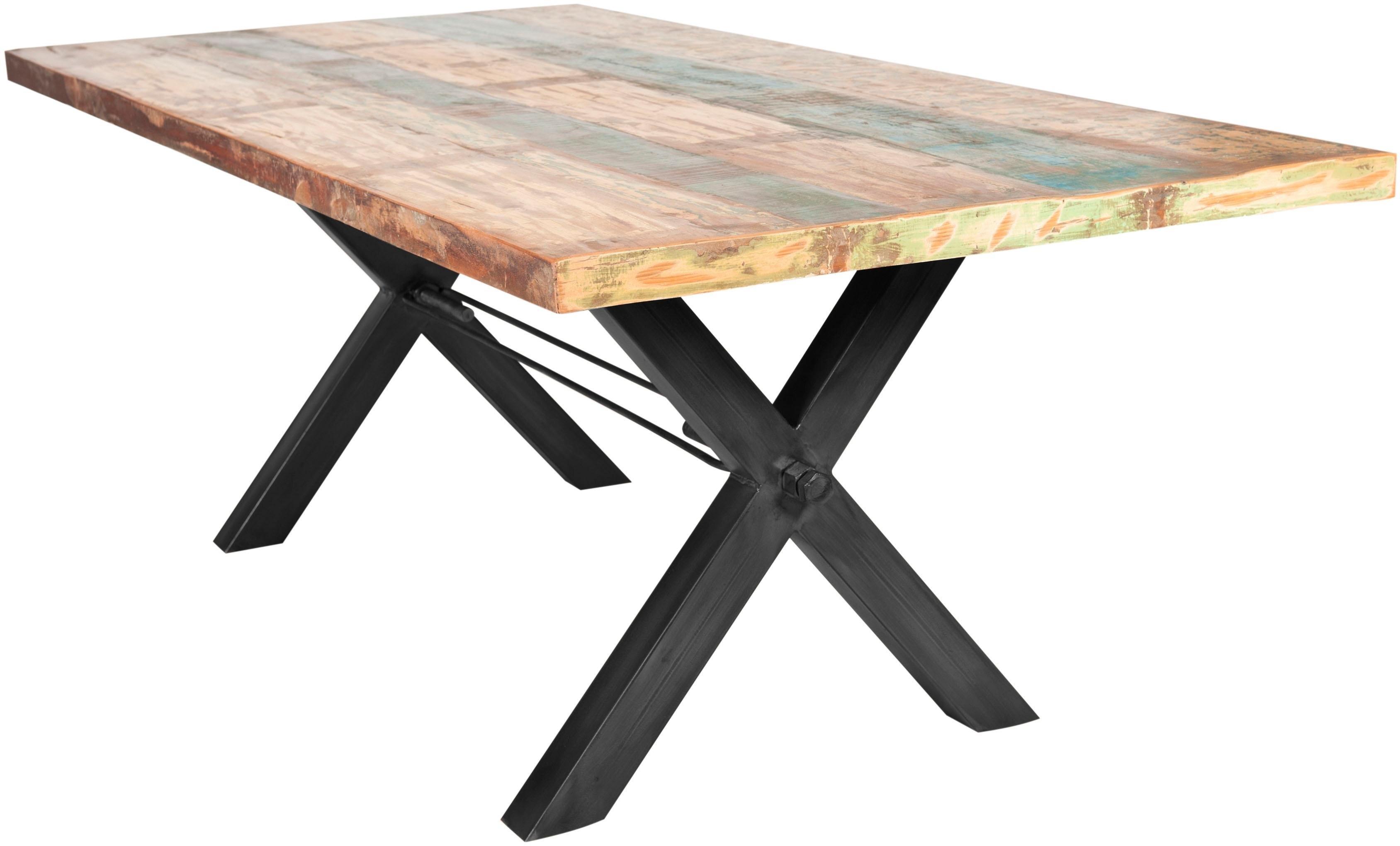 SIT Eettafel »Tops«, van gerecycled, gebruikt hout goedkoop op otto.nl kopen
