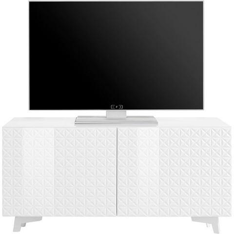 bruno banani tv-meubel Design 5, met hoogglanzende 3D-fronten, in 2 breedten