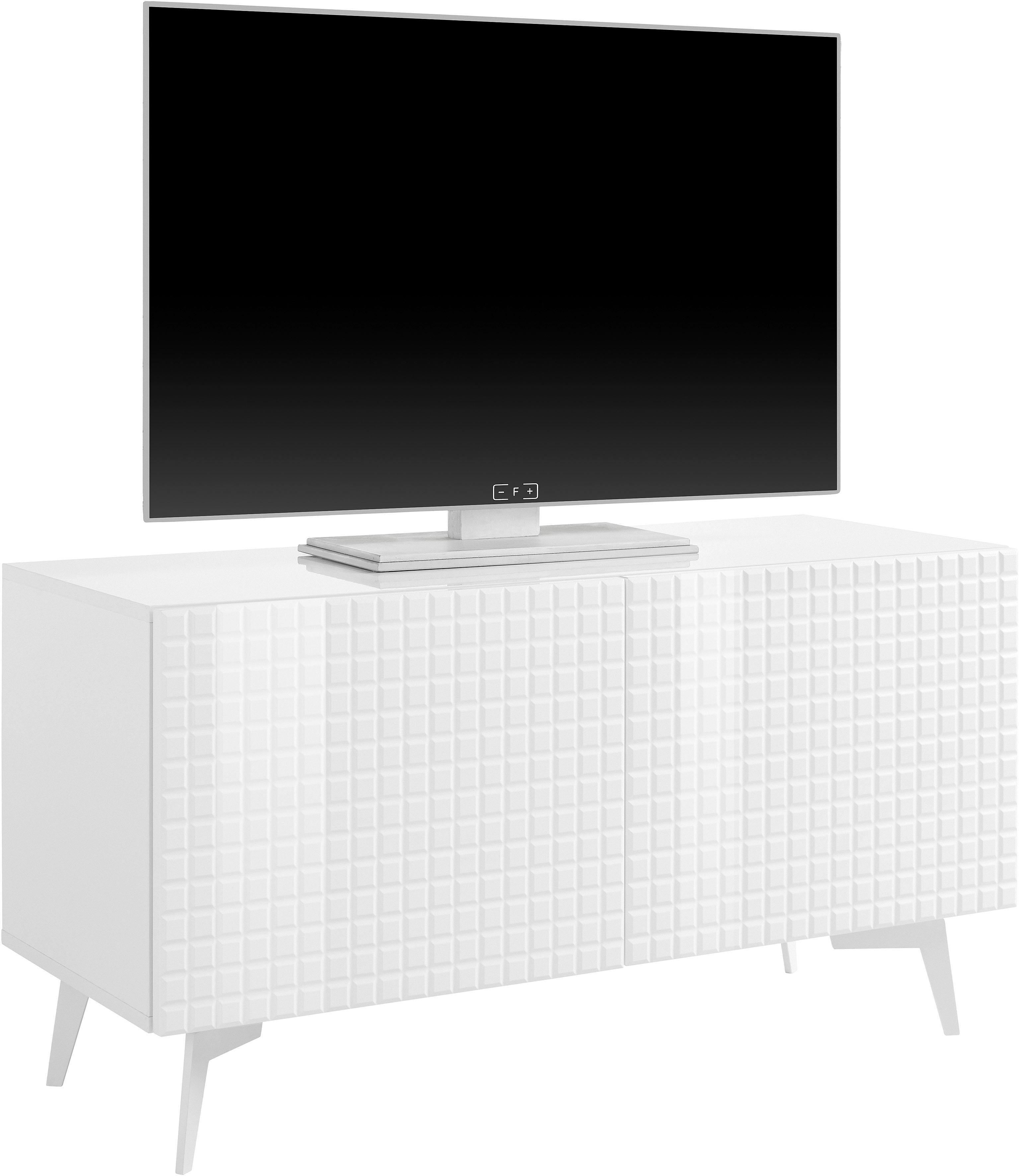 2 Tv Meubel.Tv Meubel Design 3 Met Hoogglanzende 3d Fronten In 2 Breedten