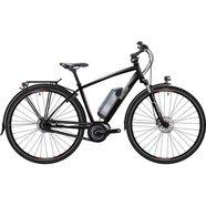 breezer bikes »greenway ig+ di2 2017« e-bike (met acculader) zwart