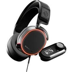 steelseries »arctis pro + gamedac« gaming-headset (via vaste verbinding, hi-res, microf. buitenkant) zwart