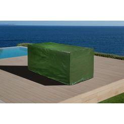 merxx beschermhoes »toskana deluxe«, gartenmoebelset, (l-b-h) 275x145x115 cm groen
