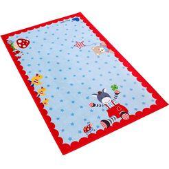 babyglueck vloerkleed voor de kinderkamer babygeluk 715 blauw